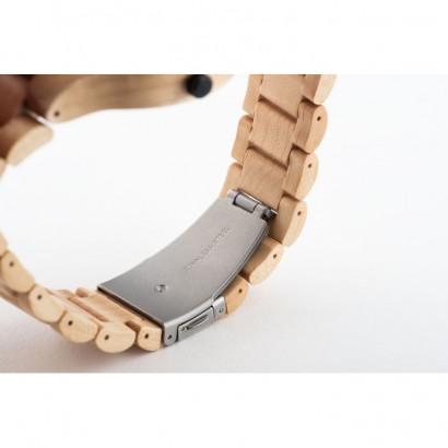 Drewniany zegarek na rękę