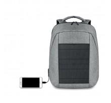 Plecak z ładowarką solarną