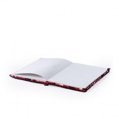 Notatnik A5 z cekinami