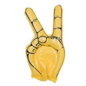 """Nadmuchiwana ręka kibica """"zwycięstwo"""""""