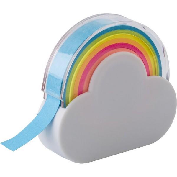 """Podajnik taśmy do notatek """"chmura"""", karteczki samoprzylepne"""