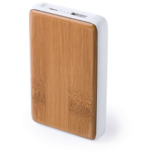 Power bank bambusowy
