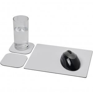 Podkładka pod mysz  i zestaw podkładek pod naczynia.