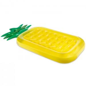 materac plażowy w kształcie ananasa