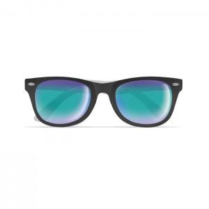 Okulary z dwukolorowymi zausznikami