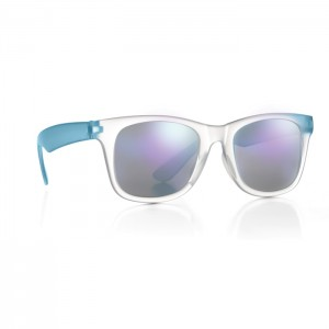 Okulary z lustrzanymi soczewkami
