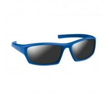 Sportowe okulary przeciwsłoneczne ze srebrnymi soczewkami lustrzanymi