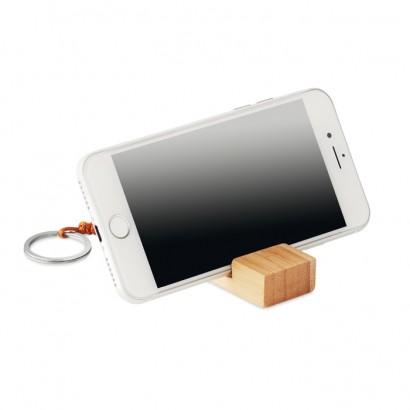 Breloczek z podstawką na smartfona