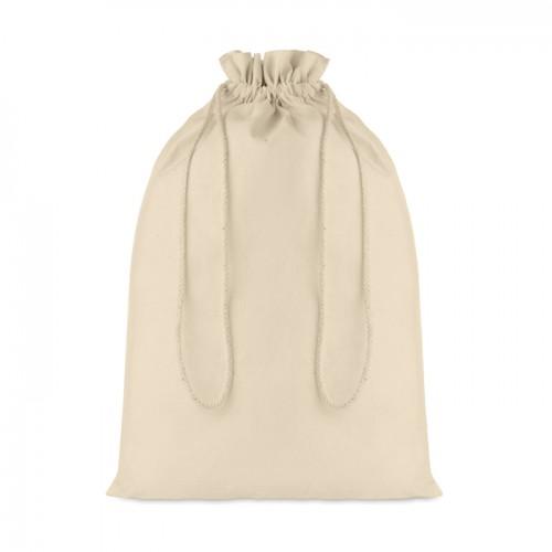 Duża torba bawełniana ściągana sznurkiem