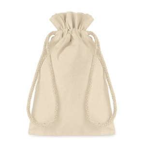 Mała torba bawełniana ściągana sznurkiem