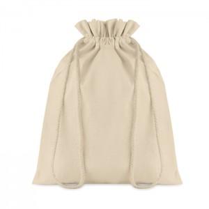 Średnia torba bawełniana ściągana sznurkiem