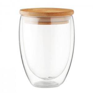 Szklanka z dwuwarstwowego szkła
