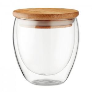 Szklanka z dwuwarstwowego szkła borokrzemianowego
