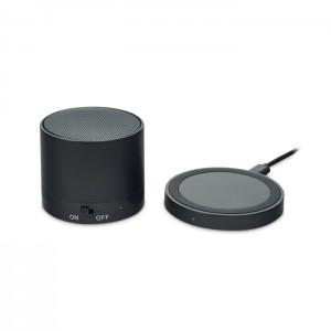 głośnik Bluetooth i bezprzewodowa ładowarka