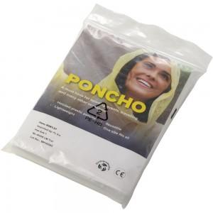 Biodegradowalna peleryna z kapturem