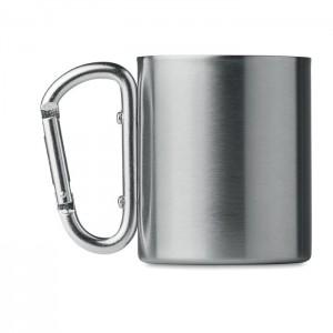 Metalowy kubek z uchwytem Sizo