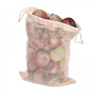 Bawełniany worek na owoce i warzywa B'RIGHT, duży.