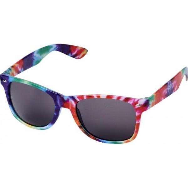 Okulary przeciwsłoneczne Sun Ray ze wzorem typu tie dye