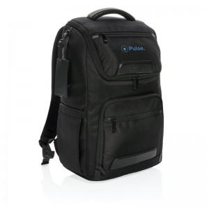 """Plecak na laptopa 15,6"""" Swiss Peak rPET Voyager, ochrona RFID"""
