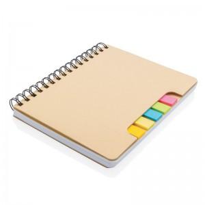 Notatnik A5, karteczki samoprzylepne
