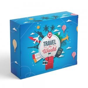 Travel BOX - maseczka + płyn + rękawiczki