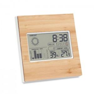 Bambusowy termometr wielofunkcyjny