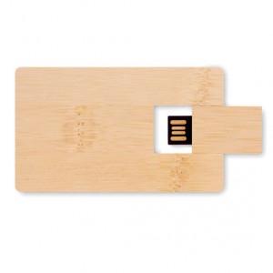 Karta USB Bambusowa