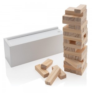 Drewniana gra zręcznościowa, 48 el.