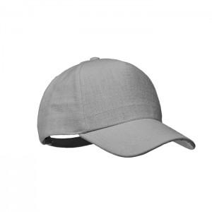 5-panelowa czapka z daszkiem ze 100% konopi 370 gr / m²