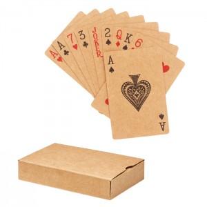 Karty do gry z papieru z recyklingu
