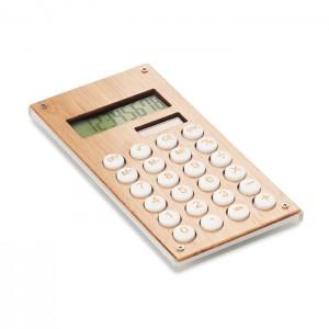 Kalkulator w bambusowej obudowie