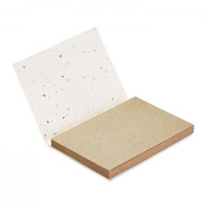 Karteczki samoprzylepne z nasionami