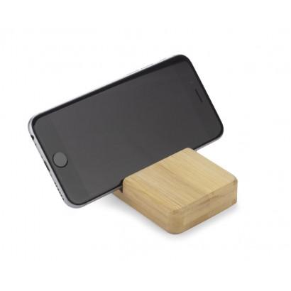 Stojak bambusowy na telefon