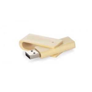 Pamięć USB bambusowa