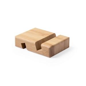 Bambusowy stojak na telefon lub tablet