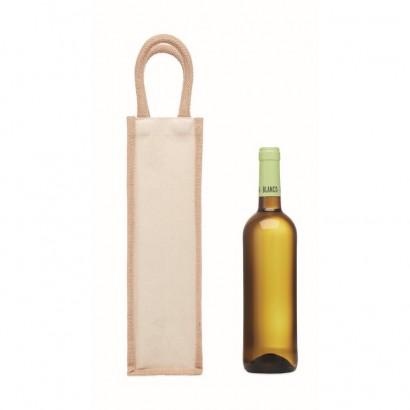 Jutowa torba na wino