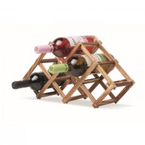 Składany stojak na wino
