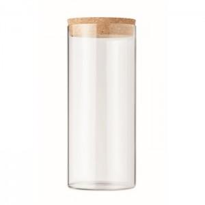 Słoik z borokrzemianowego szkła