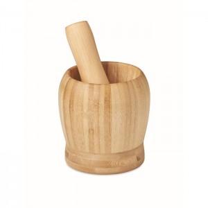 Moździerz i tłuczkek z bambusa
