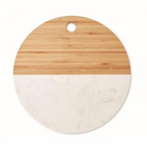 Deska z marmuru i bambusa