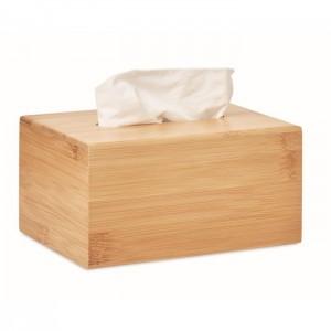bambusowe pudełko na chusteczki