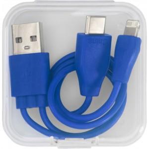 Dwustronny kabel do ładowania 3 w 1