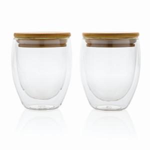 Zestaw szklanek z podwójnymi ściankami 250 ml, 2 szt.