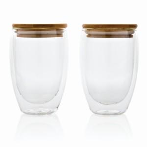 Zestaw szklanek z podwójnymi ściankami 350 ml, 2 szt.