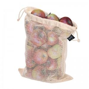 Bawełniany worek na owoce i warzywa  duży.