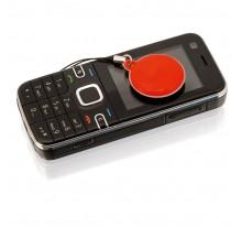 Czyścik do ekranu z przywieszką do telefonu komórk