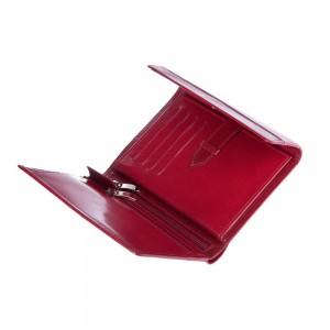 Damski skórzany portfel Mauro Conti ze skóry wysok