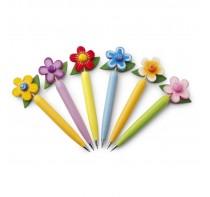 """Długopis """"kwiatek"""", mix 6 wzorów"""