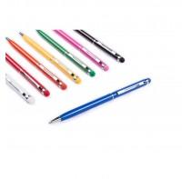 Długopis, touch pen z dopasowaną kolorystycznie gu