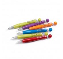 Długopis z kolorowym korpusem i kulką